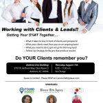 Live Class in Anthem – Working with Leads and Clients